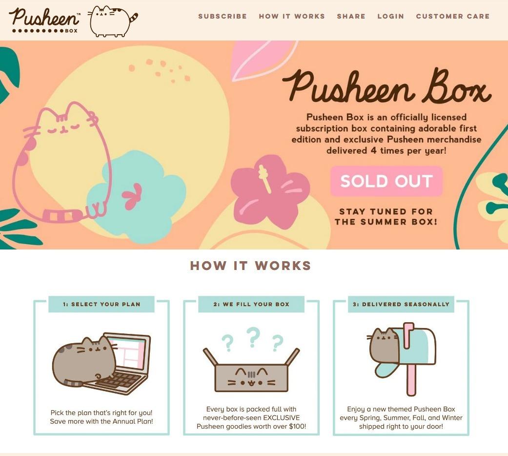 Pusheen Box Discount Code