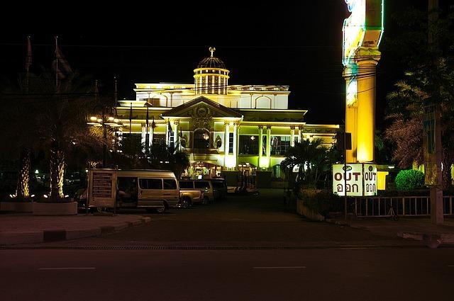 casino, at night, pattaya