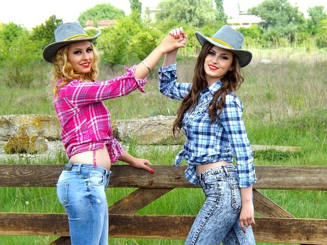 cowgirl, the wild west, women